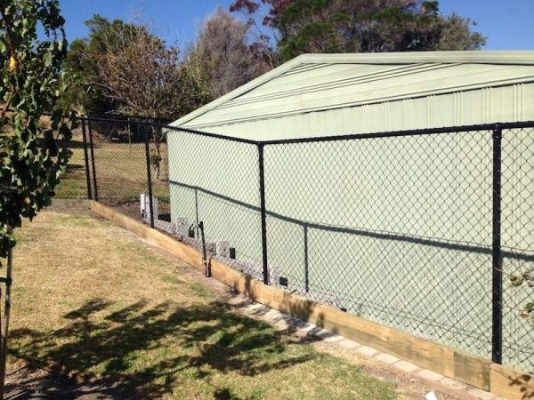 Rural Chain Link Fencing in Mornington
