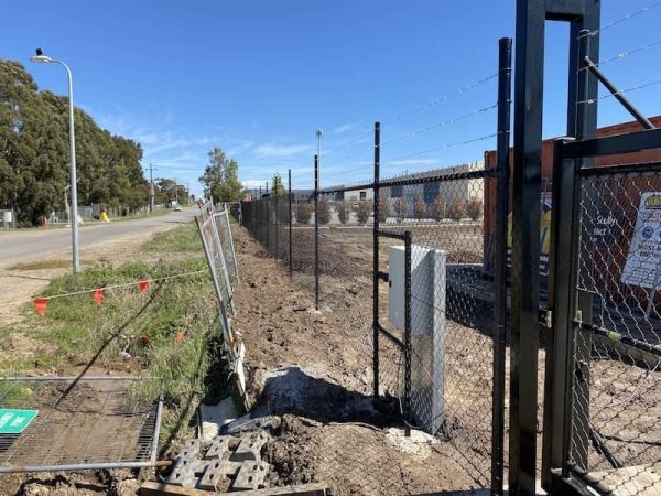 commercial chainlink fencing