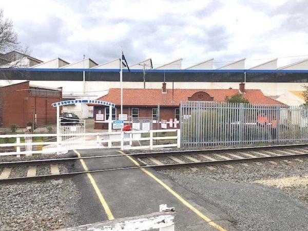 Railway Palisade Fence Ballarat